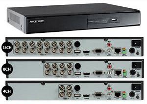 Hikvision DVR server